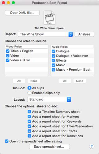 Sequence Clip Reporter CC